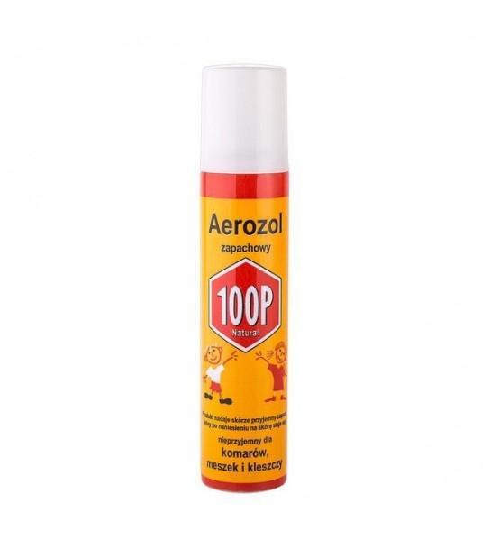 100P Areozol zapachowy komary, kleszcze, meszki- 75 ml