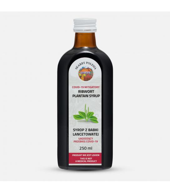 Syrop z babki lancetowatej (250 ml)