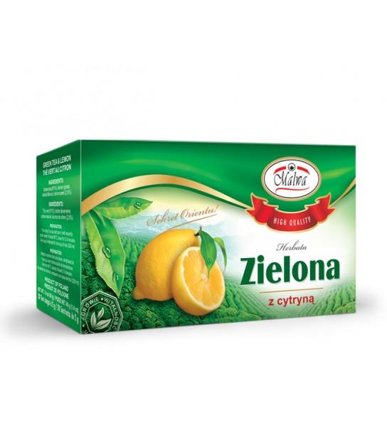 Herbata Zielona z Cytryną (20 torebek)