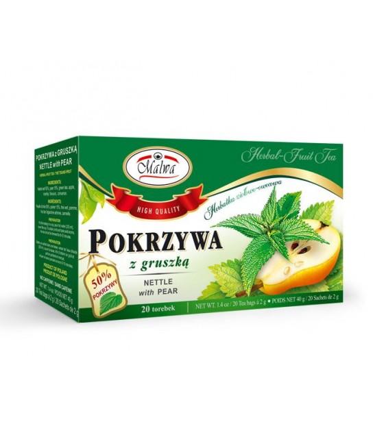 Herbatka Pokrzywa z z gruszką 40 g (20x 2 g)