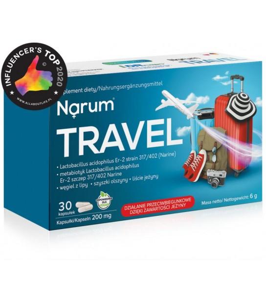 NARUM+ TRAVEL 200 mg (30 kapsułek)