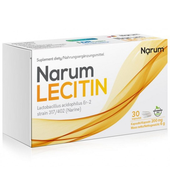 Narum Lecitin 200 mg (30 kapsułek)