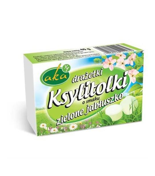 Krystolki zielone jabłuszko, Drażetki (40 g)