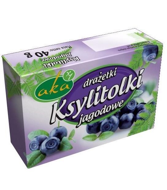 Ksylitolki jagodowe, Drażetki (40 g)