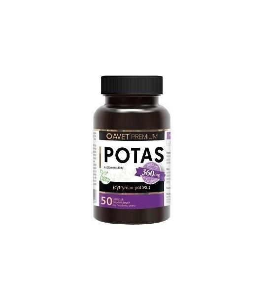 Avet premium Potas (50 tabletek)