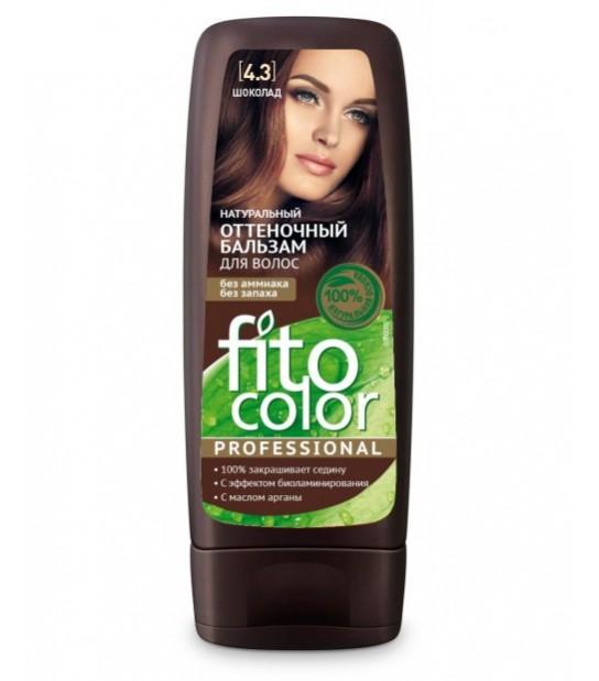 FitoColor Naturalny Balsam koloryzujący do włosów 4.3 Czekolada (140 ml)
