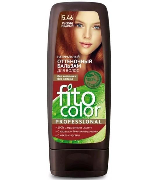 FitoColor Naturalny Balsam koloryzujący do włosów 5.46 Miedź czerwona (140 ml)