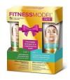 Zestaw kosmetyczny Fitness Model twarz -krem liftingujący, scrub (2x45 ml )