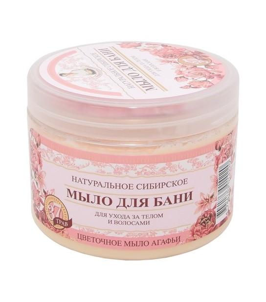 Naturalne Syberyjskie Kwiatowe mydło Agafii (500 ml)