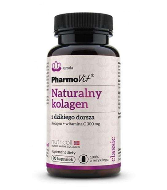 Pharmovit Naturalny kolagen z dzikiego dorsza 90kaps. Suplement diety