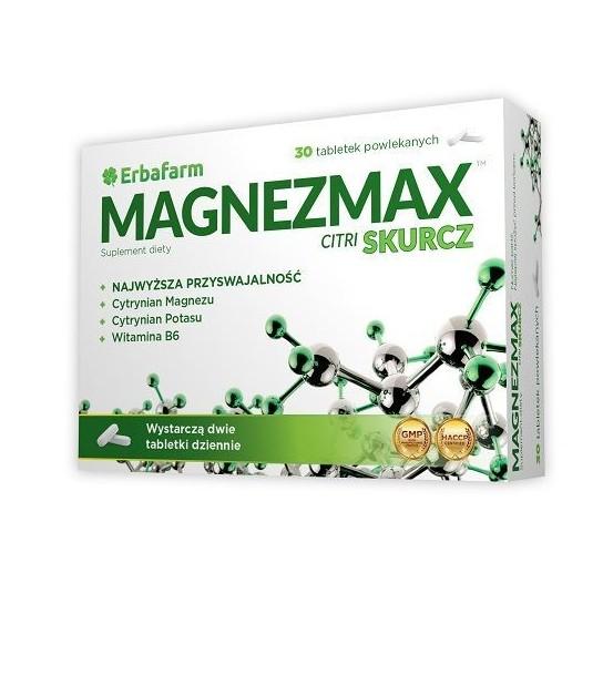 MagnezMax Citri Skurcz (30 tabletek)
