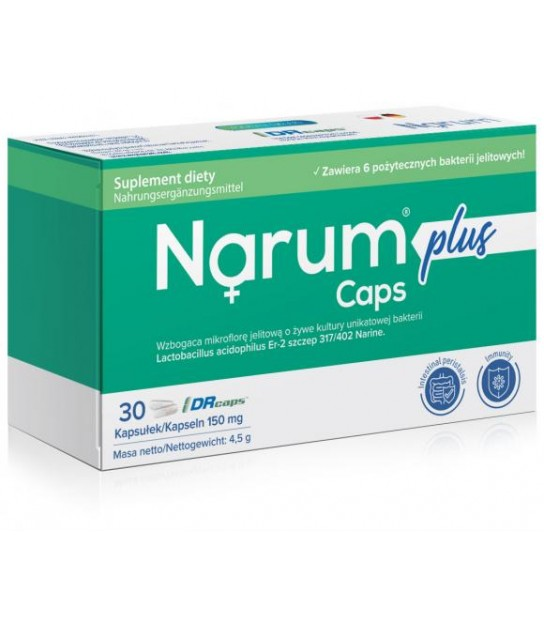 Narine Narimax Plus 150mg 30 kaps.