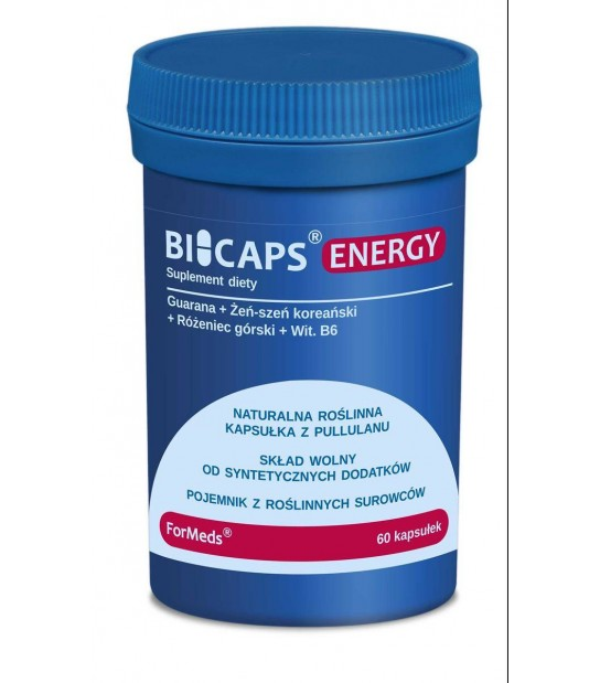 BICAPS ENERGY (60 kapsułek)