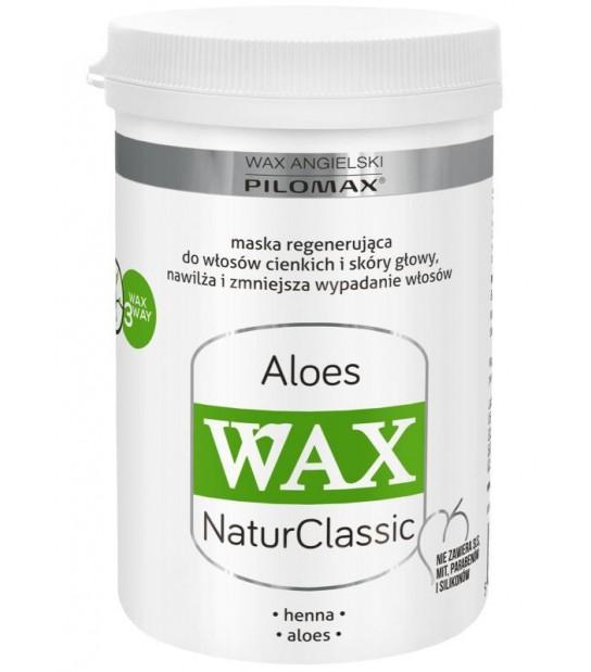 Wax Maska regenerująca ALOES do włosów cienkich WAX NaturClassic (480 ml)