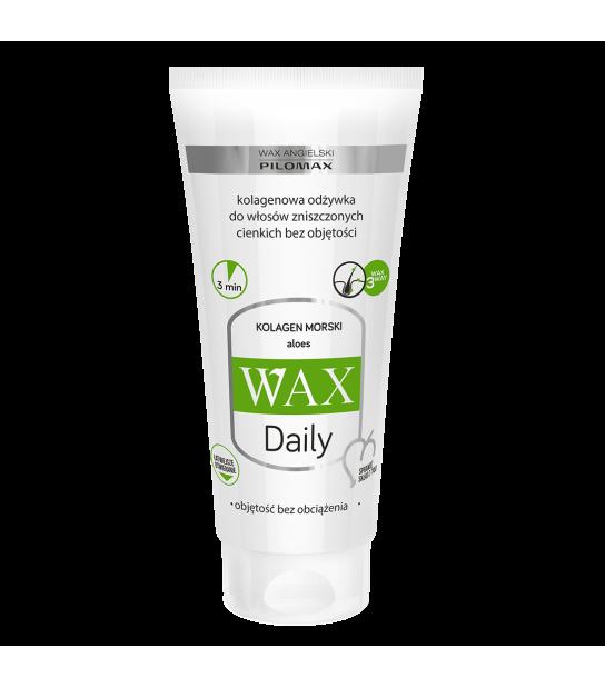 Wax Odżywka kolagenowa do włosów cienkich i bez objętości WAX Daily (200 ml)