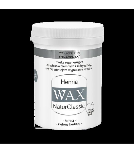 Wax Maska regenerująca HENNA do włosów ciemnych WAX NaturClassic (480 ml)